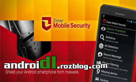 امنیت با Zoner Mobile Security